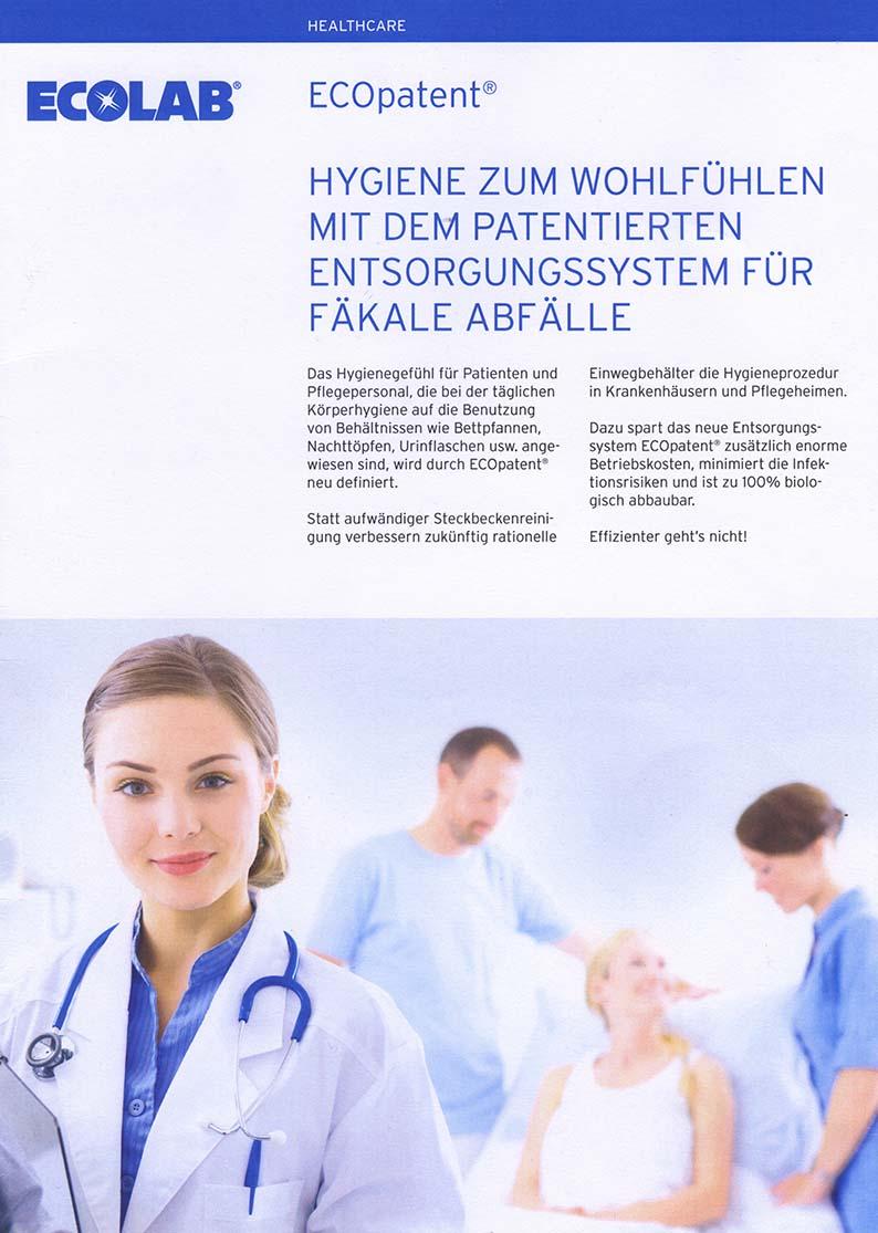 ECOpatent® Hygiene zum Wohlfühlen mit dem patentierten Entsorgungssystem für fäkale Abfälle