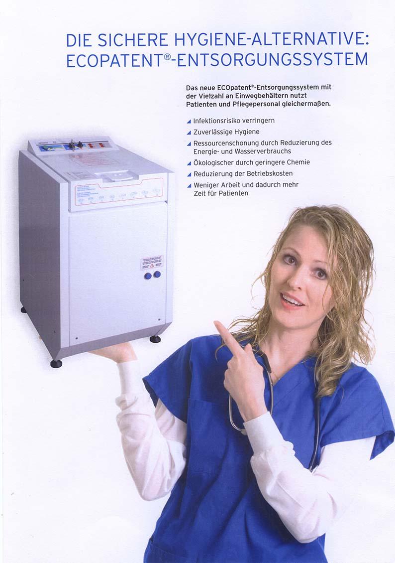 Die sichere Hygiene-Alternative: ECOpatent®-Entsorgungssysteme