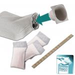 ECOPATENT® Recycled Paper Urinflasche quadratisch Set EC71788