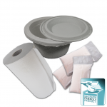 ECOPATENT® Recycled Paper Toilettenstuhltopf Set PM-2P