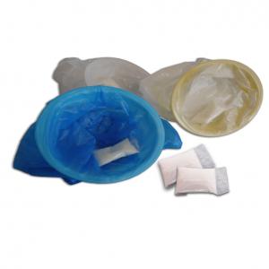 ECOPATENT® Auffangbeutel mit Mundstück und Super Absorb 6 g Geliergranulat
