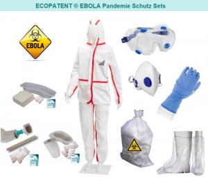 EBOLA SCHUTZ SET / Komplettes Ebola-Virus Schutzset