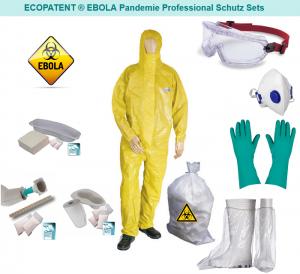 EBOLA PLUS SCHUTZ SET /Komplettes Ebola-Virus Schutzset